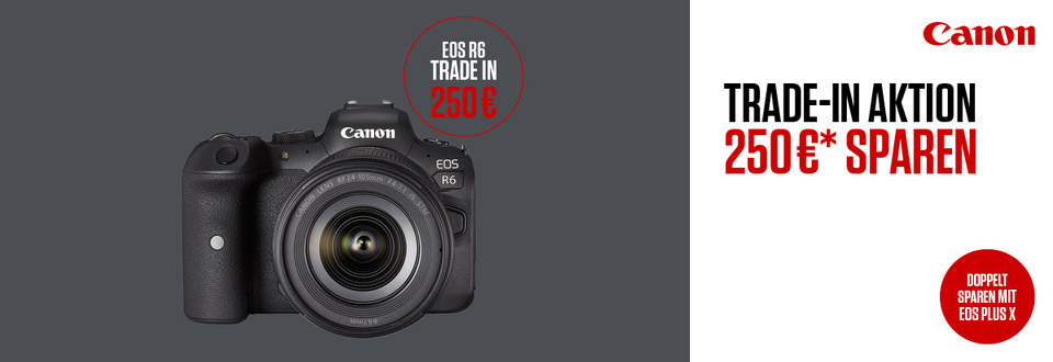 Canon EOS R6 – Trade-in 250 €